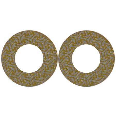 Diamant Ersatzblatt selbstklebend für Disc K 400 GELB, 4x