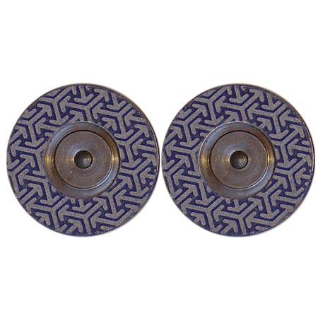 Diamant Disc für Roto-Finish K 800 BLAU, 2 + 2 Scheiben