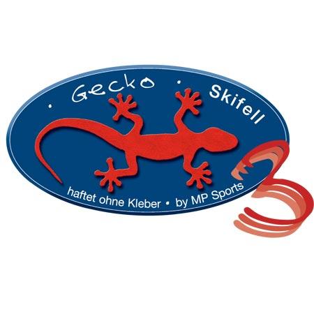 Gecko Skifell 140mm x 200cm, Frontplatte, Zuschnitt, grün