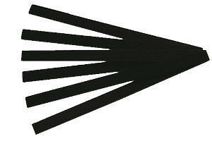Reparaturmaterial Stäbchen schwarz, 20 Stück