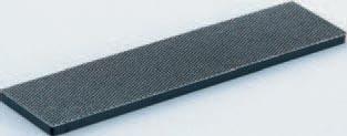 Diamantfeile grob Korn 120, 25 x 93 mm, schwarz