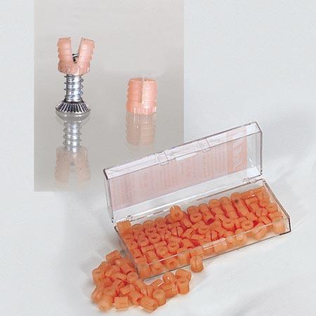 Plastikdübel zum einschlagen, 100 Stück