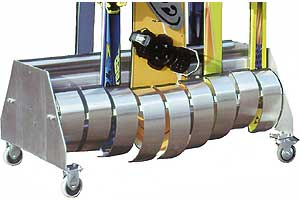 Vario-Pack-System Transporttrolli, 12 Klappen