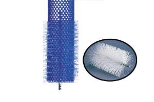 Rutsch Schutz für Stumpies, 90 mm Bürstenraupe, Ø 45 mm Nylo