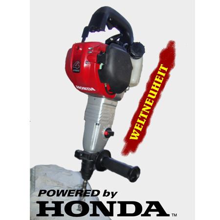 Honda Benzin-Bohrhammer, ModellC40, 4-Takt, SDS-Plus ALU-Box