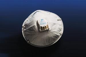 Atemschutzmaske, Skibeläge bürsten (gegen feste Feinstäube)