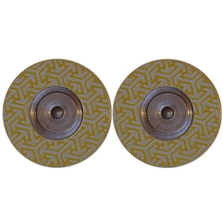 Diamant Disc für Roto-Finish K 400 GELB, 2 + 2 Scheiben