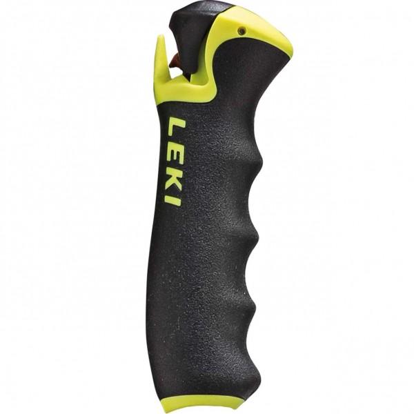 Leki Trigger S PRO G, Soft- Griff 16 oder 18mm, black-neon