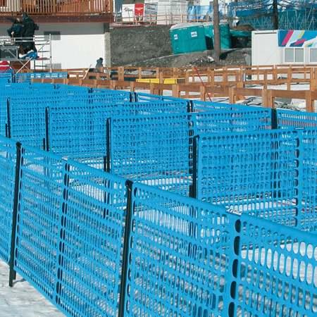 Tenax Absperrsystem Limit 3, 200x90cm, blau