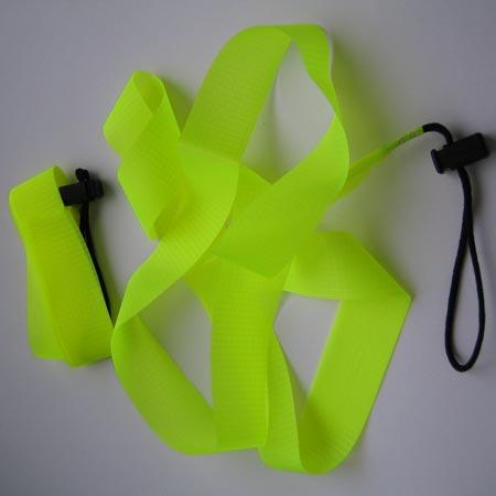 Tiefschneeband 160cm, gelb
