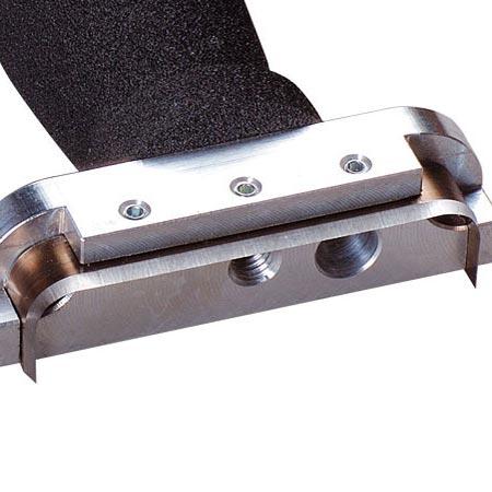 Ersatzmesser oval klein offen, 70 x 15mm