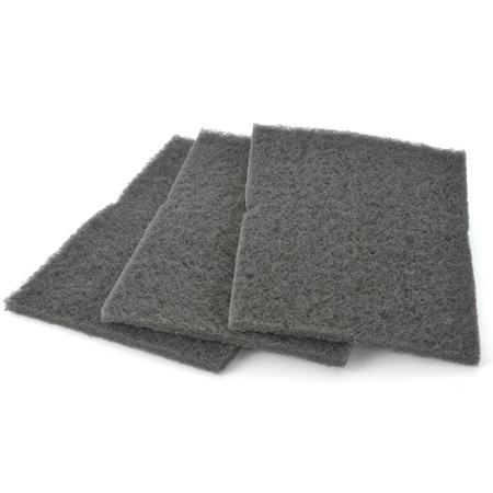 Mirlon Pads Ultra fein, grau, K500-800, 3 Stück
