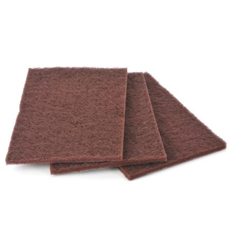 Mirlon Pads Mittel, rot, K220-380, 3 Stück