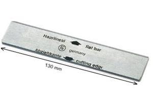Haarlineal / Spezialabziehklinge 130 x 30mm