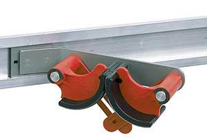Flip Clip Universalhalter, Metallbügel gekröpft 40°